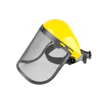Maska ochronna / osłona twarzy do pracy z narzędziami ogrodniczymi