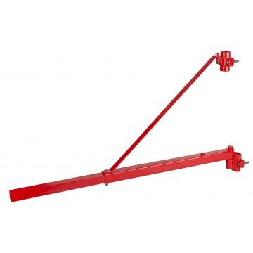 Obrotowe, wychylne ramię do wyciągarki elektrycznej - długość 750/1100mm