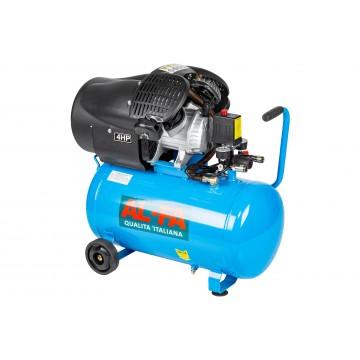 Kompresor ALC-50V 50 litrów - sprężarka 2-tłokowa