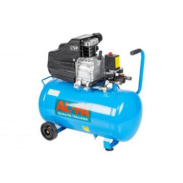 Kompresor ALC-50 50 litrów - sprężarka 1-tłokowa