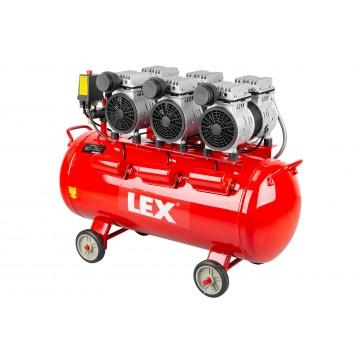 Bezolejowy cichy kompresor LXAC85-28LO - pojemność 85 litrów