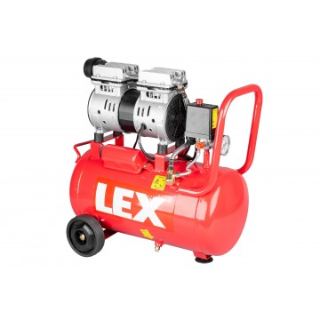 Bezolejowy cichy kompresor LXAC24-11LO - pojemność 24 litry