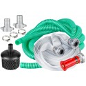 ZESTAW: Motopompa spalinowa do wody ALWP1 + 2 węże + 300ml oleju