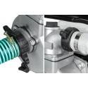 ZESTAW: Motopompa spalinowa 6,5 HP do wody WP-20 + 2 węże + 600ml oleju