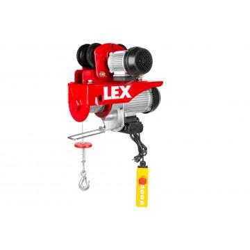 Wciągarka elektryczna LXEH1000TW z suwnicą - udźwig do 1000kg