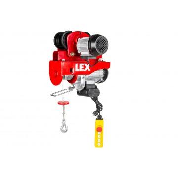 Wciągarka elektryczna LXEH800TW z suwnicą - udźwig do 800kg