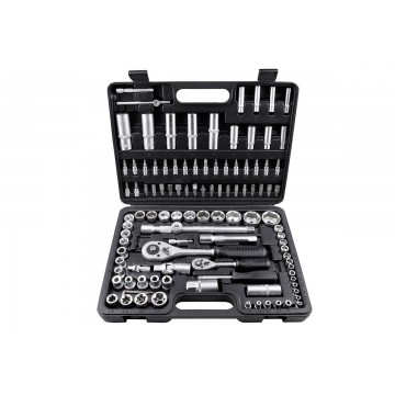 Zestaw kluczy nasadowych LXC1080 108 elementów