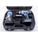 Wkrętarko-wiertarka akumulatorowa CD213 18V 2 akumulatory + ostrzałka do wierteł