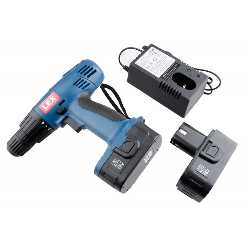 Wkrętarko-wiertarka akumulatorowa LXCD18 18V + 2 akumulatory