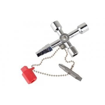 Uniwersalny klucz do szafek technicznych