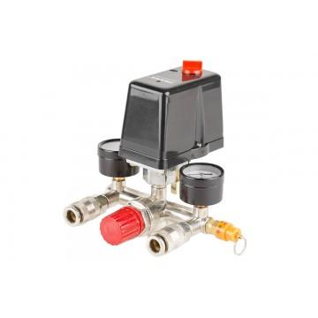 Uniwersalny presostat do sprężarek oraz kompresorów 3-fazowych