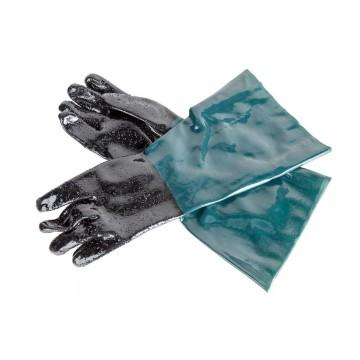 Rękawice ochronne do piaskarek kabinowych krótkie