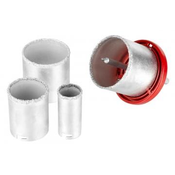 Zestaw otwornic wolframowych - 6 elementów