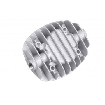 Pokrywa cylindra, głowica kompresora 50l PRAWA - LEWA prawa z zaworem, lewa-trójnik